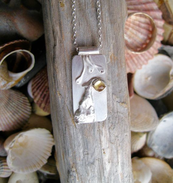 sterling silver pendant  sterling silver necklace nature