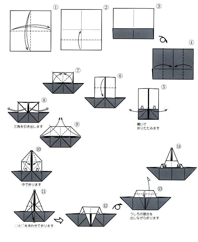 うさぎ雛の折り方(1)