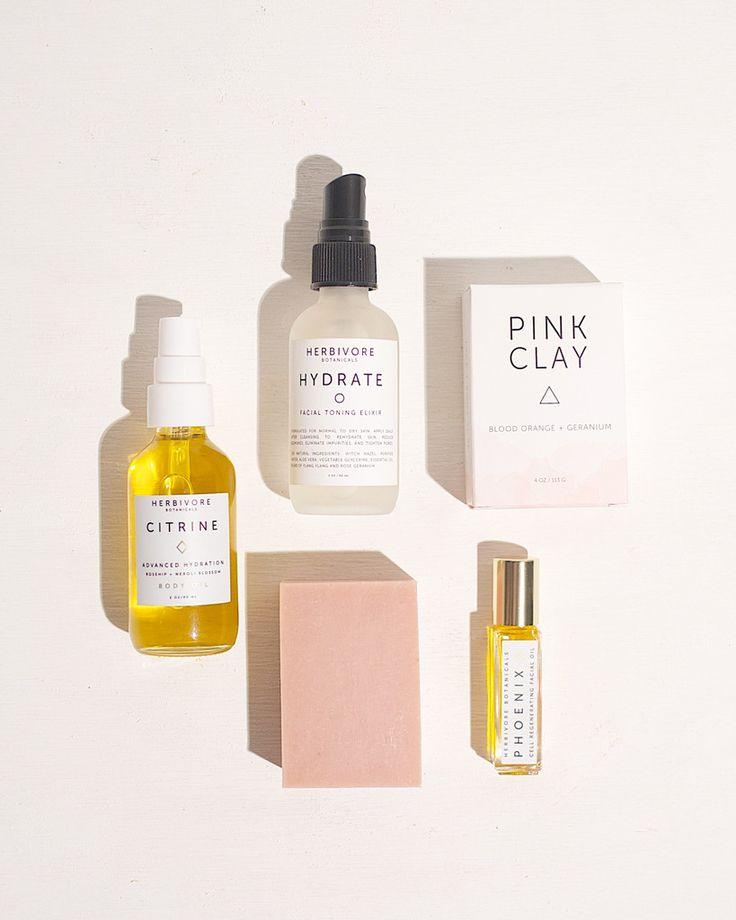 Travel Set for Dry / Sensitive / Mature Skin Types – Herbivore Botanicals
