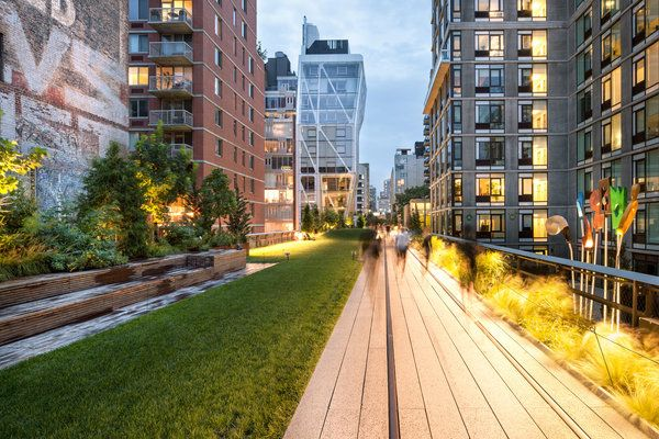 High Line in West Chelsea NYC - love