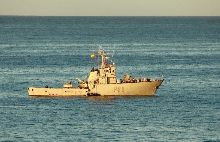 Tag der Offenen Tür bei der Marine in Las Palmas de Gran Canaria