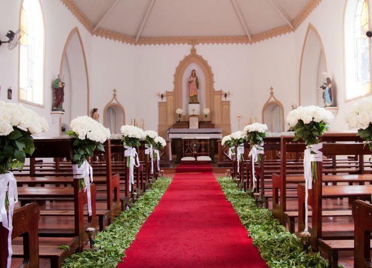 caminho até o altar