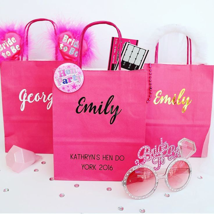 Hen Party Gift Bags / Survival Kits / Favours Favors  Available in my Etsy store https://www.etsy.com/uk/shop/Partyroo