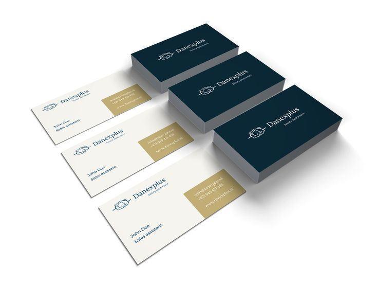 Business card for Online store with Luxury mattresses