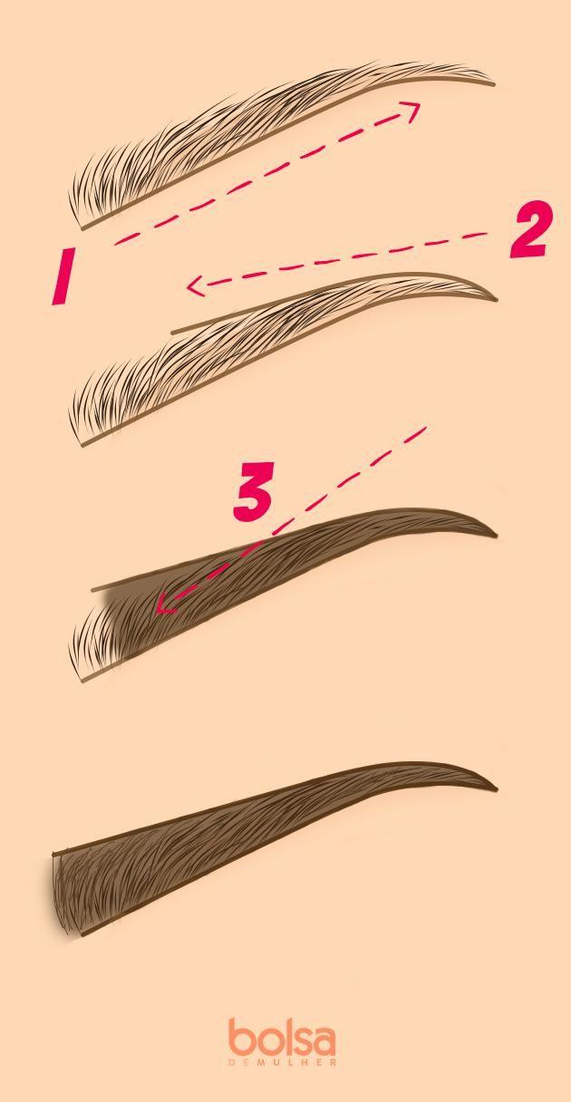 3 passos para nunca mais errar ao preencher a sobrancelha: aprenda a regra do lápis