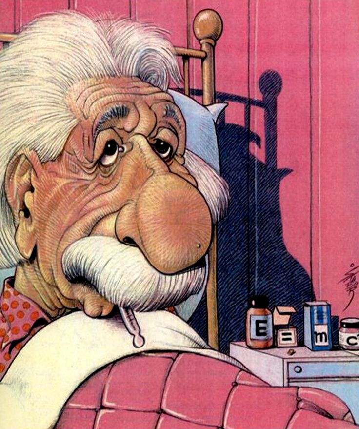 Albert Einstein  Cartoon by Borislav STANKOVIC –STABOR ,Belgrade,Serbia