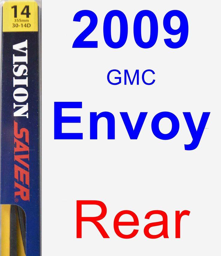 Rear Wiper Blade For 2009 GMC Envoy - Rear