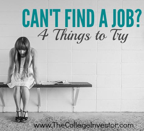 Can't Find a Job? 4 Things to Try.