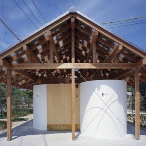 Hut+with+the+Arc+Wall++by+Tato+Architects