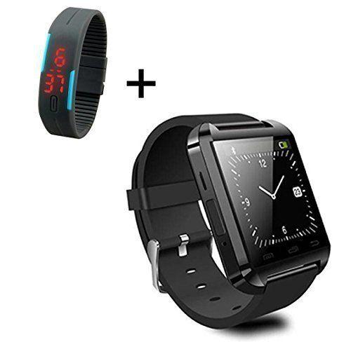 Kolylong U8 1.5 inch Bildschirm Smart-Armbanduhr TFT LCD U8 Bluetooth 4.0 for Android Handy (Black) Schwarz - http://on-line-kaufen.de/kolylong/kolylong-u8-1-5-inch-bildschirm-smart-armbanduhr-4