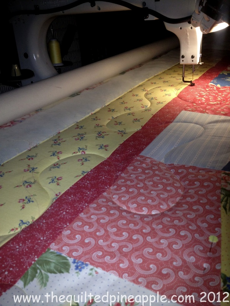 846 best quilting long arm tutorials images on pinterest tutorial stitching out the spine for allover freehand feathers the quilted pineapple longarm pronofoot35fo Images