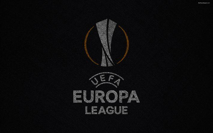 Herunterladen hintergrundbild 4k, europa league, neues logo, neues emblem, fußball, fußball-turnier, europa
