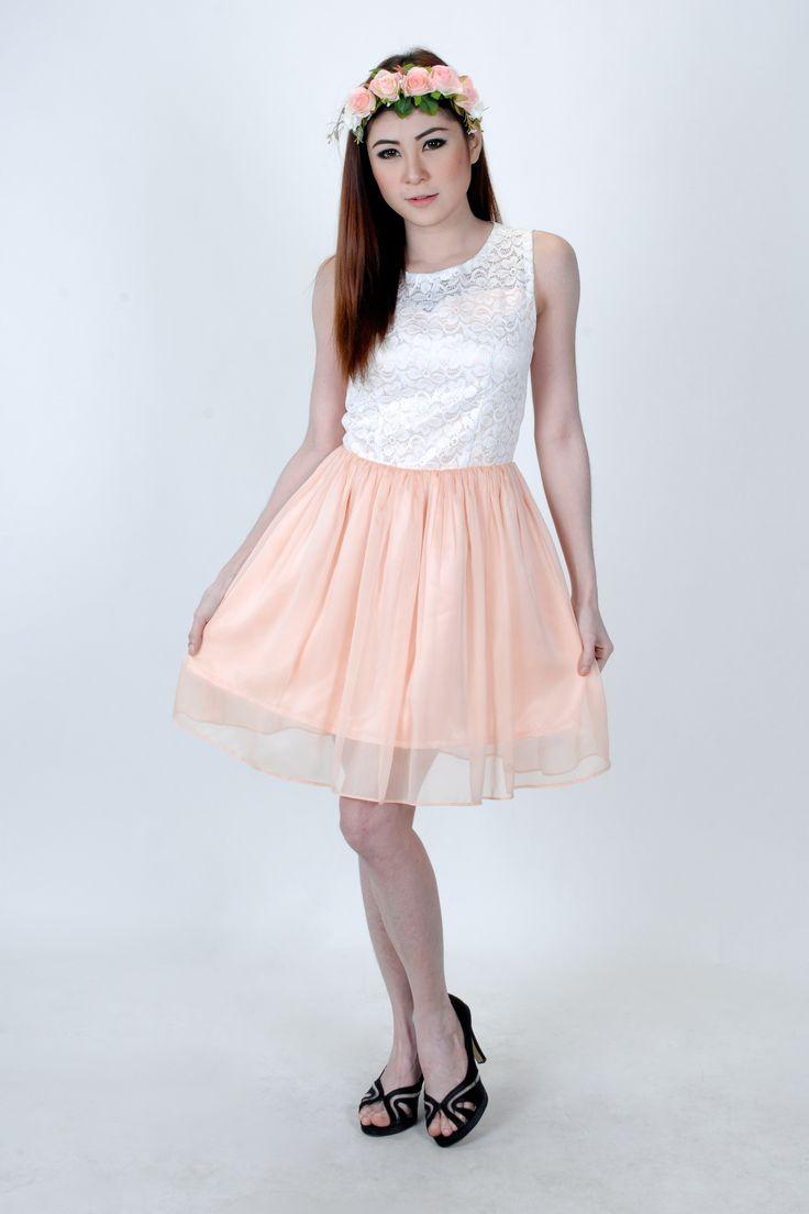 So beauty  sweet dress Yaya Kloset by yaya_shop be chic be intrend be you