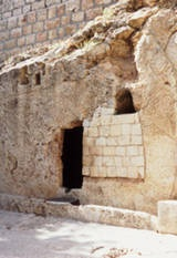 The Garden Tomb in Jerusalem is believed to be the burial place of Jesus. 2,000 years after his death, followers of Christ still flock to see the empty tomb, one of the strongest proofs of the resurrection.