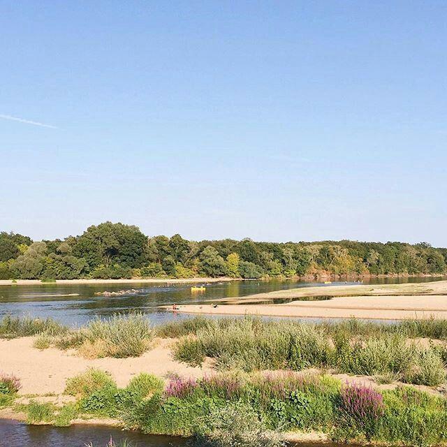 Le fleuve la loire  tours département Indre-et-Loire  France  Val de Loire