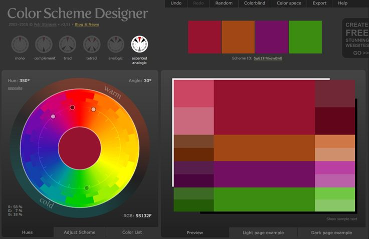 17 Best Ideas About Color Scheme Generator On Pinterest