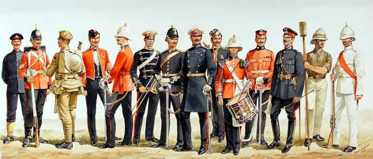 Royal Marines uniforms through the ages   Royal Navy