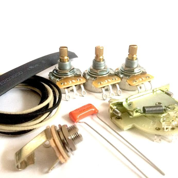 Strat Wiring Kit These Are Some Of The Best Components On The Market Today And