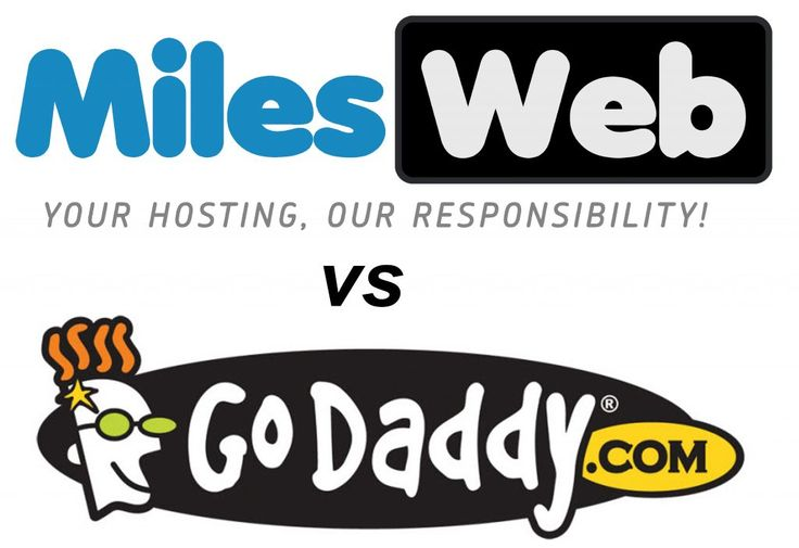 MilesWeb vs GoDaddy – Who is the best web hosting provider in India