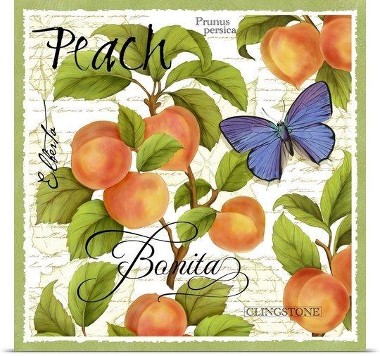Botanical Peach