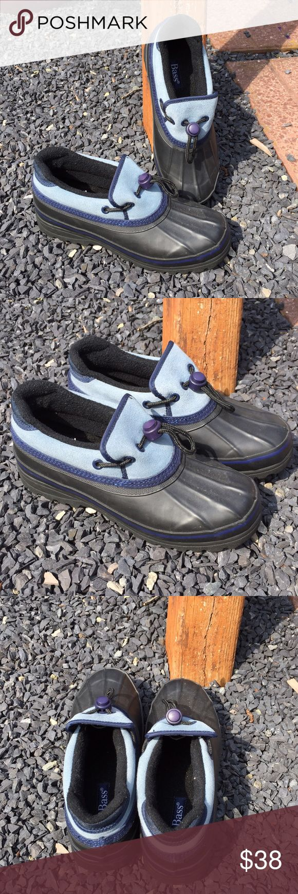Bass Mud Muck Shoes Boots Size 8 Never Worn Size 8. Never worn.  Be sure to view the other items in our closet. We offer both women's and Mens items in a variety of sizes. Bundle and save!! Thank you for viewing our item!! Bass Shoes