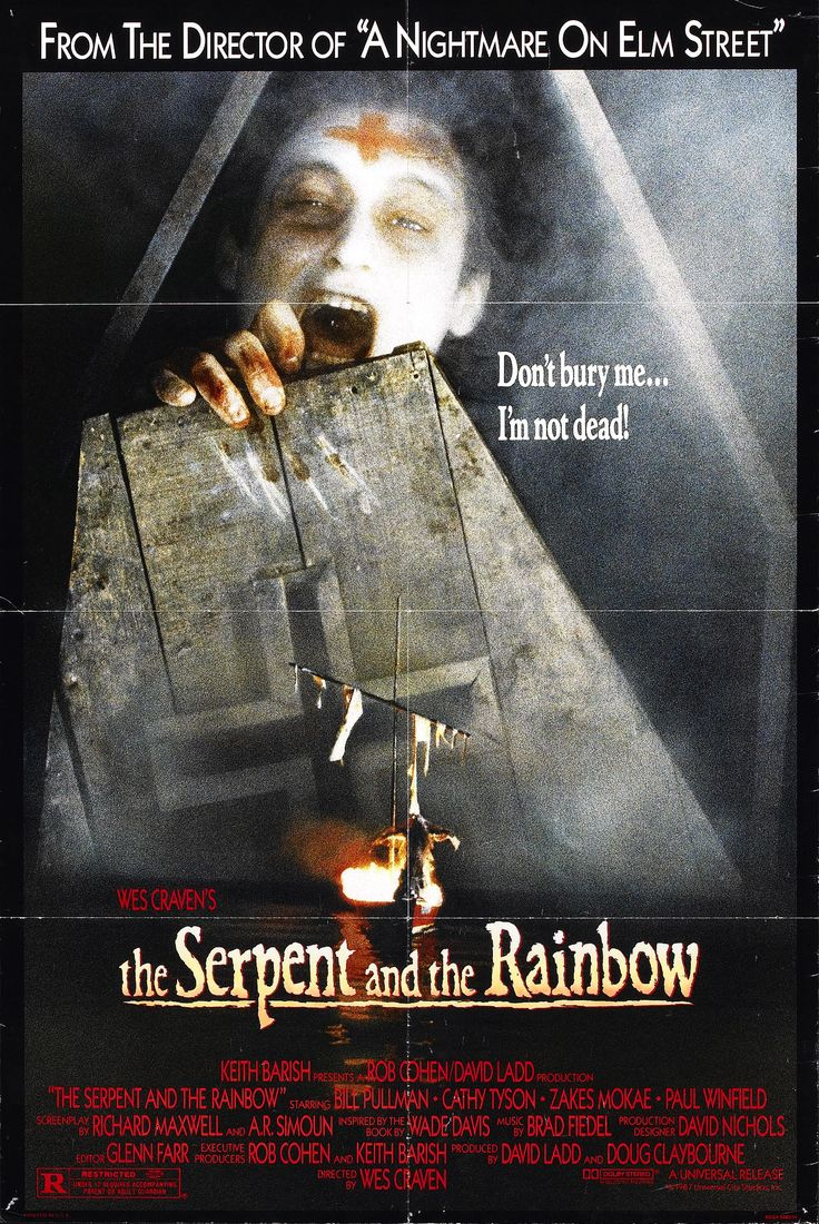 THE SERPENT AND THE RAINBOW (1988).