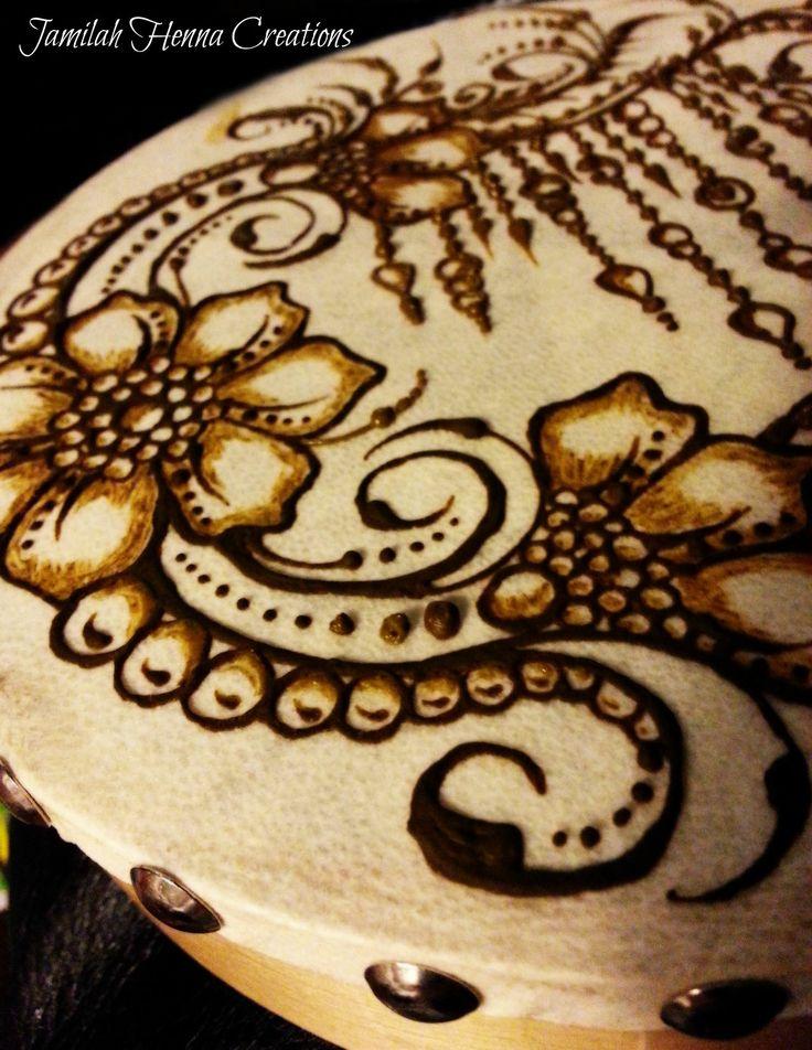henna drum www.jamilahhennacreations.com