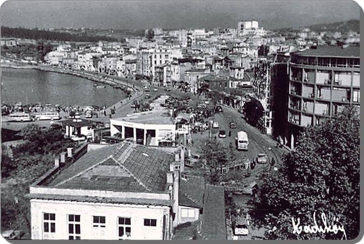 Kadıköy rıhtımı doldurulmadan önce - 1960 lar