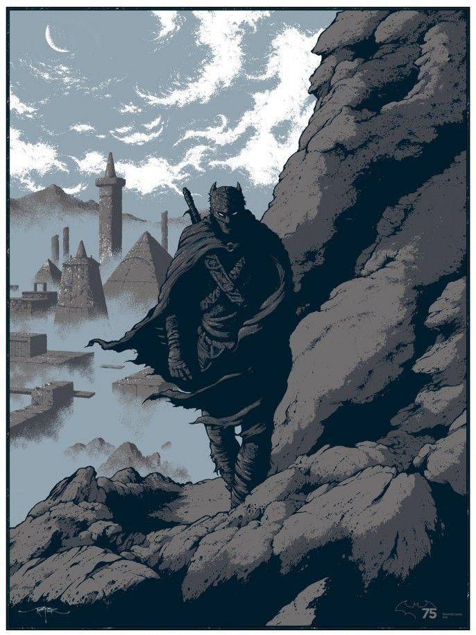 Batman Iron Age by Arik Roper