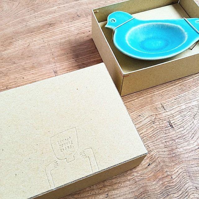 SPICA 雑貨店 studiopotterkoedaさんのトリ豆皿、ギフトボックスも入荷しました♪ #別府 #studiopotterkoeda…