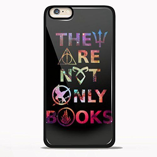 They Are Not Only Book Cover Design for Samsung Galaxy and Iphone Case (iPhone 6/6S black)