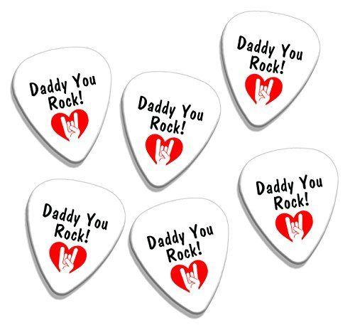 Papá tú eres el mejor día de padres 6 x Logo sueltas (GD) selecciones de la guitarra