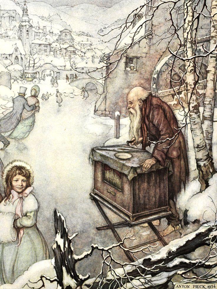 muziek van schubert op het ijs