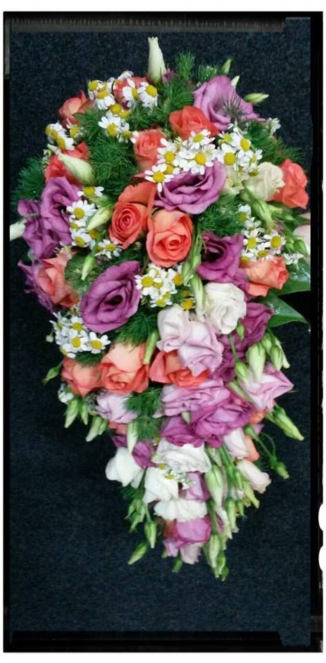 abbastanza Oltre 25 fantastiche idee su Bouquet a cascata su Pinterest  EU85