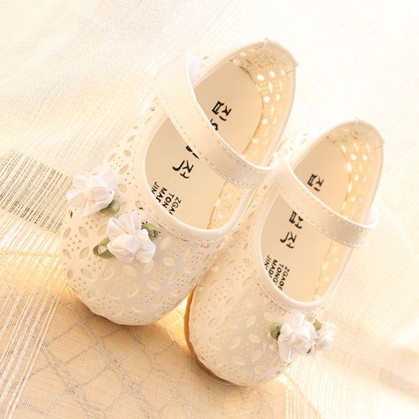 2015年春款 鏤空花邊嬰幼兒學步涼鞋 女寶寶涼鞋 嬰兒公主鞋子