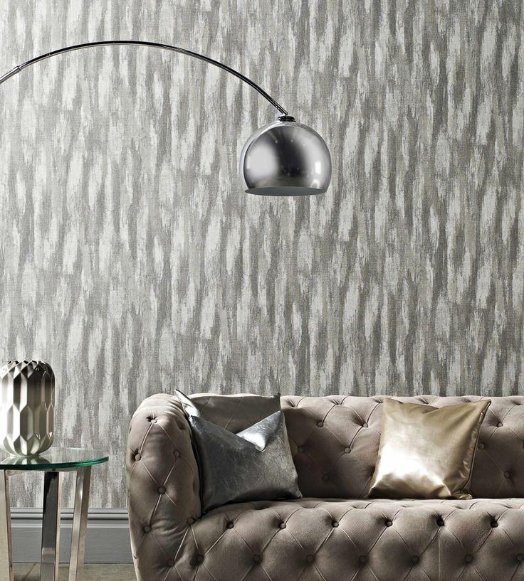 Metallics   Oxide Wallpaper by Prestigious Textiles   Jane Clayton