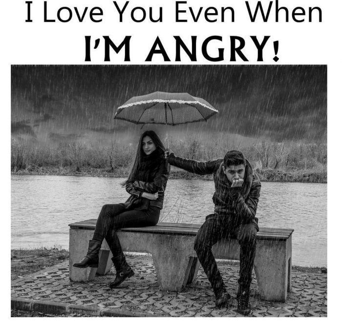 love quote: I love you even when I\'m angry   Angry love ...