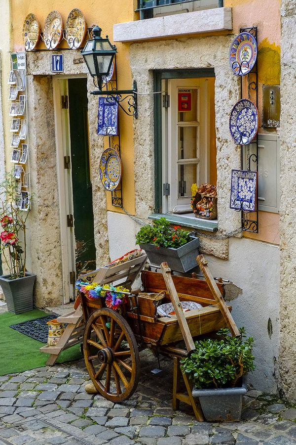 Take the #28 tram through Alfama, the oldest part of Lisbon, and shop for beautiful handmade Portuguese ceramics and embroidery.