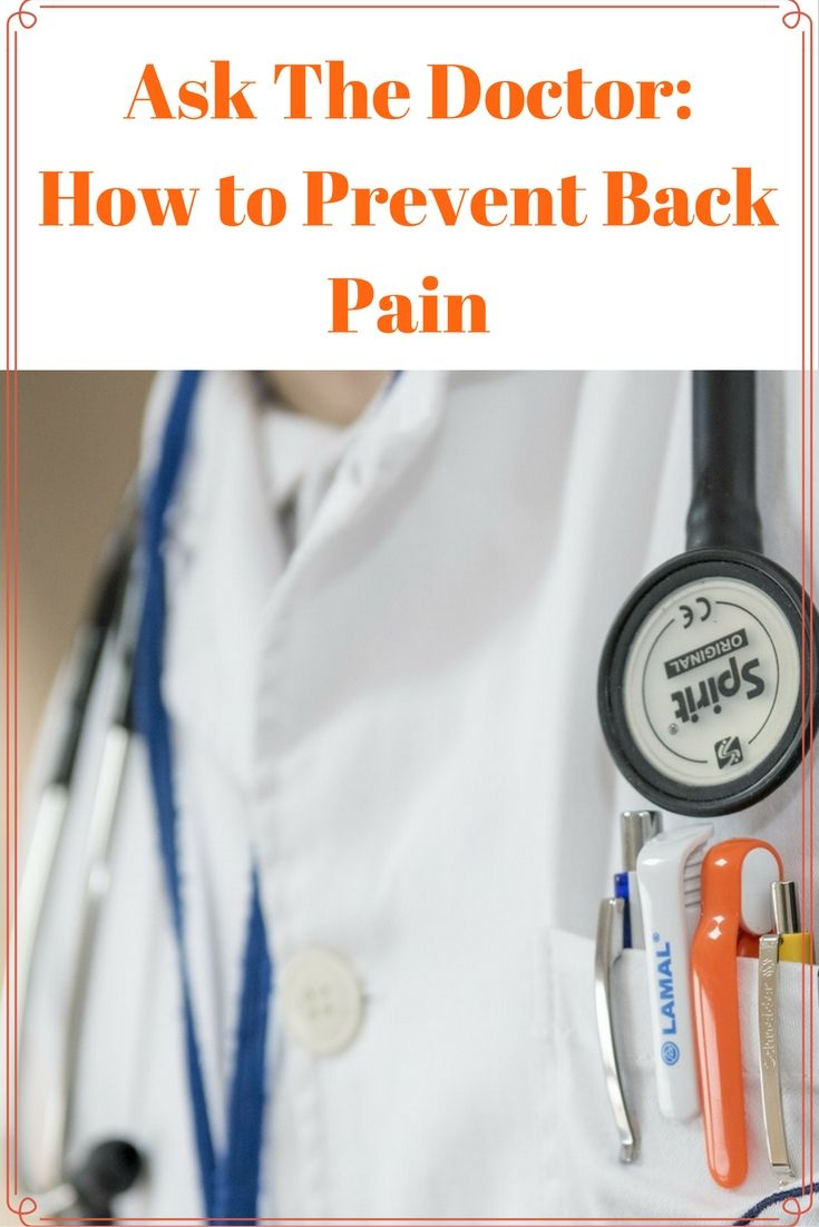 What are the causes of lower back pain? What is the best back pain treatment? How to prevent back pain? Everyone is searching for credible sources to find out! Find out the answers at https://fitvize.com/2016/11/17/ask-the-doctor-how-to-prevent-back-pain/