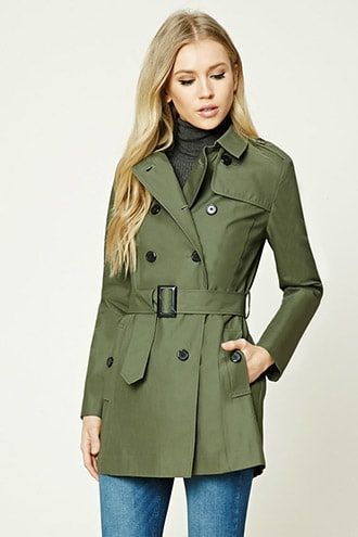¡Cómpralo ya!. Classic Trench Coat. details   A lightweight woven classic trench coat complete with front and back buttoned storm flaps, long sleeves, a double-breasted front, buttoned epaulettes, notched lapel, welted side pockets with decorative buttons, , and a self-tie belt.  Content + Care   - 100% cotton- Machine wash cold- Made in Vietnam  Size + Fit  - Model is 5'8%22 and wearing a Small- Full length: 32%22- Chest: 34%22- Waist: 34%22- Sleeve length: 24%22 , trench, trenchlargo…