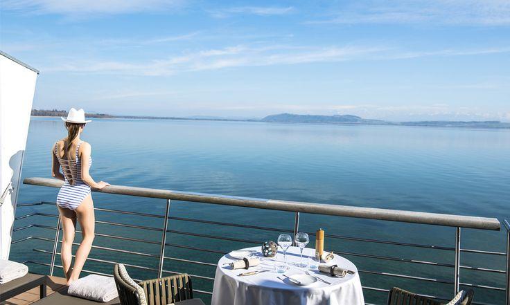 Hotel Palafitte in Neuchâtel, Switzerland #hotel #lakeside #view