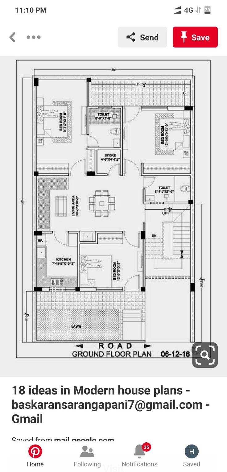 Pin by Harish Ansari on 30x50 house plans (With images