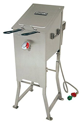Bayou 700701 4 Gallon Stainless Steel Propane Deep Fryer W Basket Regulator *** Find out more about the great product at the image link.  This link participates in Amazon Service LLC Associates Program, a program designed to let participant earn advertising fees by advertising and linking to Amazon.com.