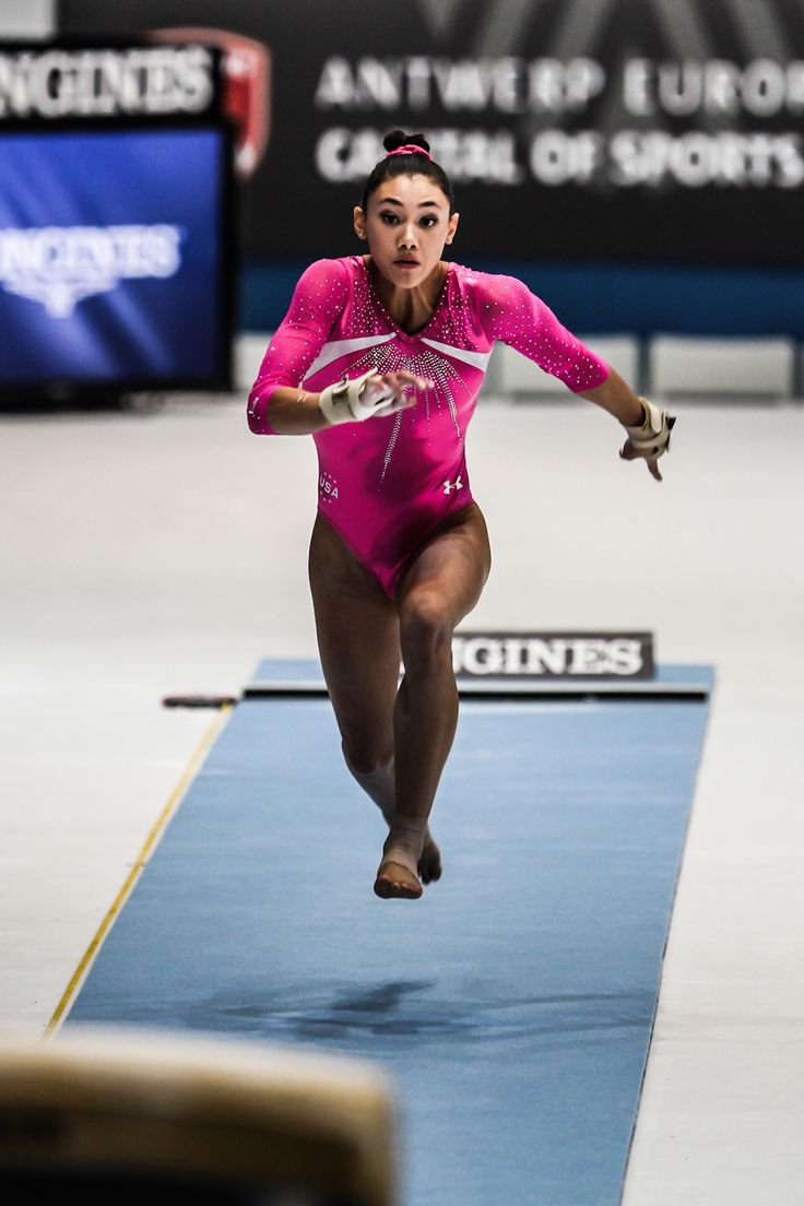 Kyla Ross with an olympic run, she is like the most forgotten of the fierce five!