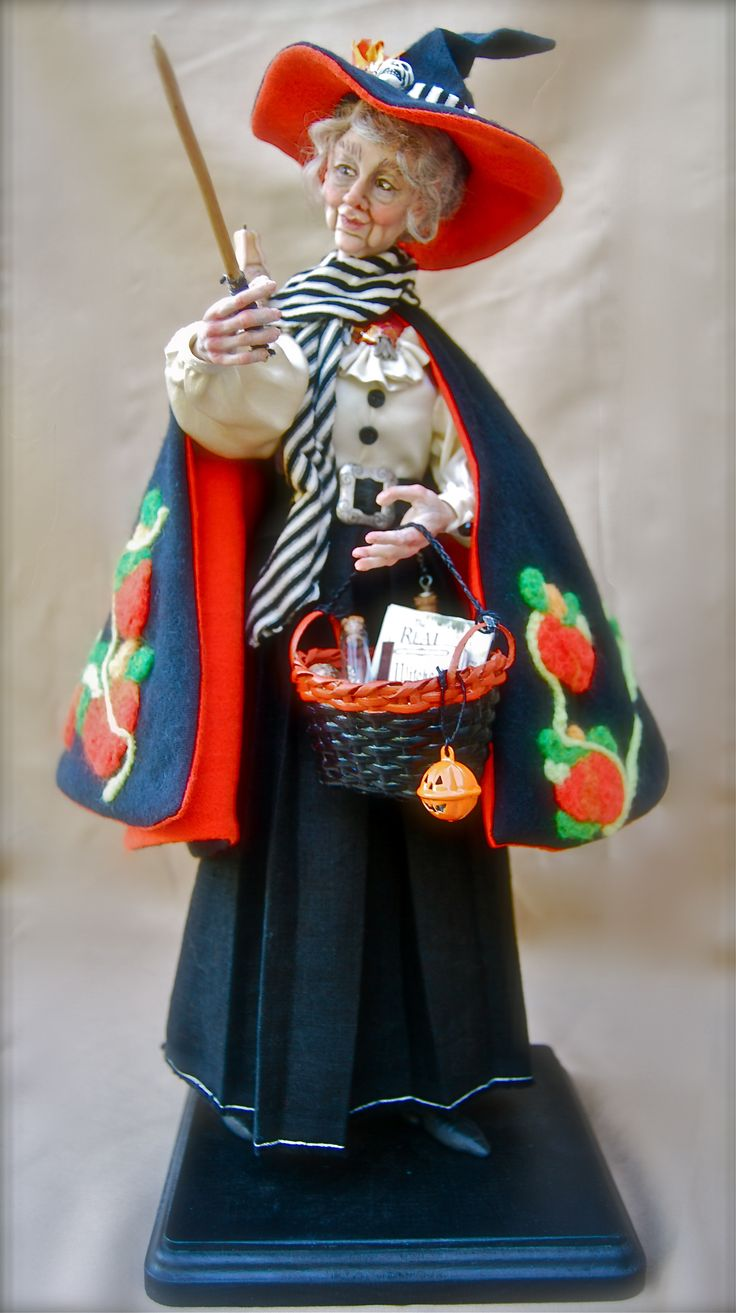 78 best witch dolls muñecas de brujas images on pinterest witch