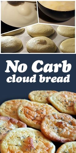 This No-Carb Cloud Bread Recipe Only Uses 4 Ingredients!