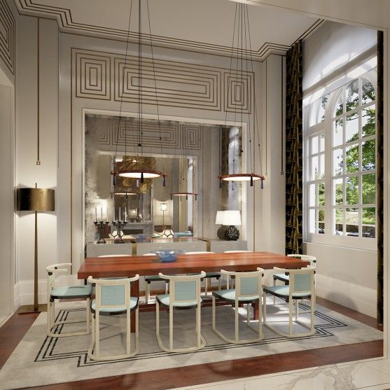 3529 best Contemporay spaces and details images on Pinterest - salle a manger louis