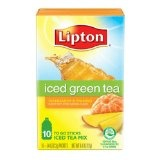 Lipton Green Tea To Go, Mandarin and Mango, 10-Count Boxes (Pack of 12) (Grocery)By Lipton