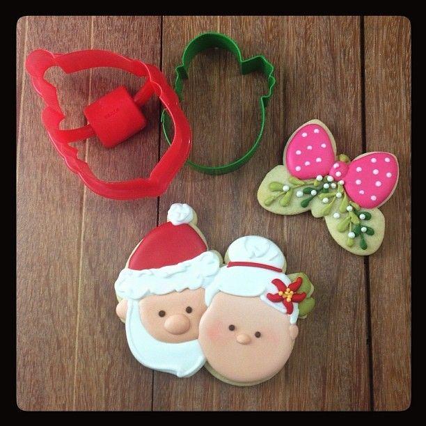 Santa Claus Mrs Claus Cookie Klickitat Street