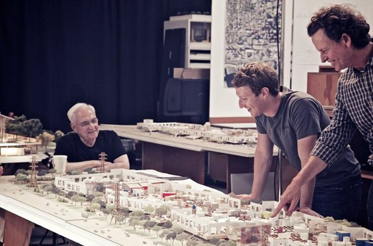 Frank Gehry planning new Facebook Campus Expansion.    #architecture #news #campus #facebook #socialnetwork #gehry #zuckerberg